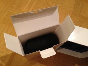 Zubehör in der Verpackung